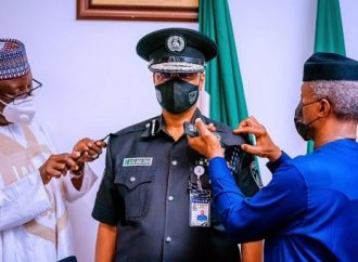 President Buhari appoints Usman Baba as Acting IGP in place of Mohammed Adamu.