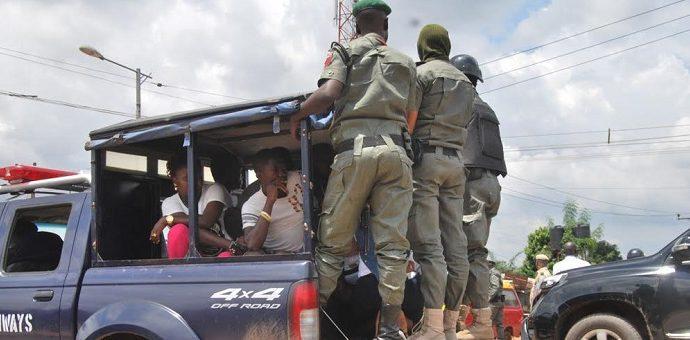 The Nigerian police kills 5 people in Golf Estate Enugu State.