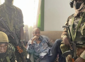 Military coup in Guinea as Army Colonel Says Government Has Been Dissolved.