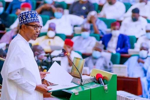 Nigeria's President unveils a record 16.39 Trillion Naira Budget.